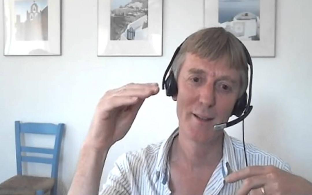 Mick shares his healing insights